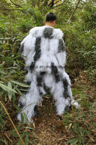 Snow Camouflage Clothing Ghillie Suit pictures & photos