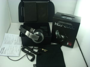 Professional DJ Headphone (HDJ-1000/HDJ-2000)
