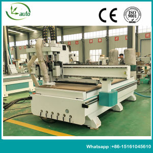 Four Heads Auto Tool Change Wood CNC Router for furniture Processing pictures & photos