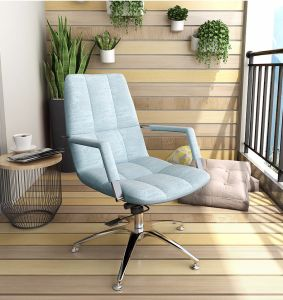 Blue Mesh Lounge Armchair for Home Living Furniture pictures & photos
