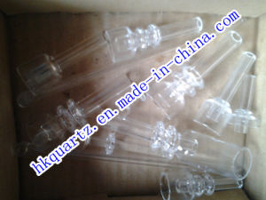 10mm New Domeless Quartz Nail Domeless Quartz Nail with 14mm Female Quartz Joint-Patented Design pictures & photos