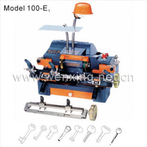 Key Duplicate Machine Copy Key Machine Key Cutting Machine (100-E1) pictures & photos