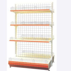 Single-Side Wire Back Supermarket Shelf /Supermarket Shelf/Supermarket Rack