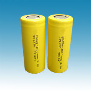 LiFePO4 Cylindrical Battery (3.2V, 18650, 26650, 32650) pictures & photos
