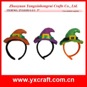 Halloween Decoration (ZY11S353-1-2-3) Halloween Headband Mask Decoration pictures & photos