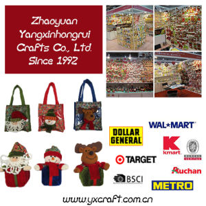 Colorful Christmas Poly Bag, Christmas Table Decoration pictures & photos