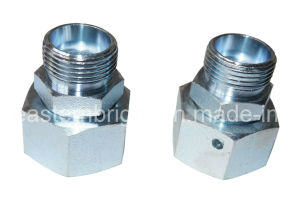 Hydraulic Fitting Straight Metric Union with Swivel Nut (2C 2D)