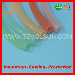 FDA Approved Food Grade Yellow Silicone Tubing pictures & photos