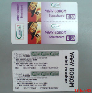 Prepay Card