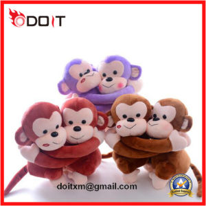 3 Colors Wedding Gift Couple Monkey Plush Toy pictures & photos