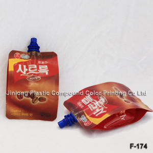 Stand-up Plastic Bag with Spout Bag and Spout on The Top pictures & photos