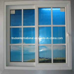 High Quality PVC Sliding Window/Grilled Plastic Window pictures & photos