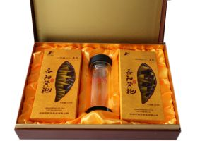 Hunan Cake Dark Tea (Yue Yang Tower pattern) pictures & photos