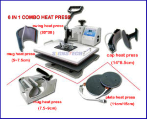 Combo Heat Press 6 in 1 (TY61) pictures & photos