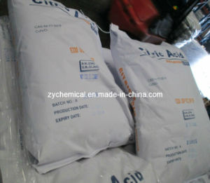 Citric Acid Monohydrate / Anhydrous, 99.5-101.0%, as a Flavoring and Preservative in Food and Beverages, Especially Soft Drinks pictures & photos