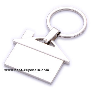Metal Gift House Promotion Custom Logo Souvenir Keyring (BK11318) pictures & photos
