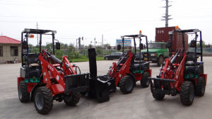 4*4 Compact Multifunctional Mini Loaders Diesel pictures & photos