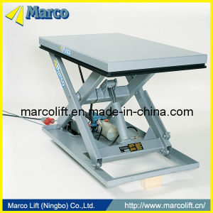 0.5-1 Ton Marco Single Scissor Lift Table with CE Approved pictures & photos