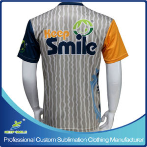 Custom Sublimation Short Sleeve Lacrosse Sports Shooting Men T-Shirt pictures & photos
