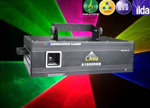 1500 MW RGB Cartoon Laser Light with CE&RoHS (A1500RGB)