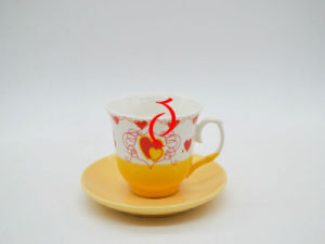Spring Ceramic Bulk Coffee Saucer and Cups pictures & photos