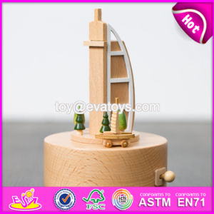 Customize Cartoon Gifts Wooden Boys Music Box W07b049 pictures & photos