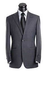 One Button Man Suit