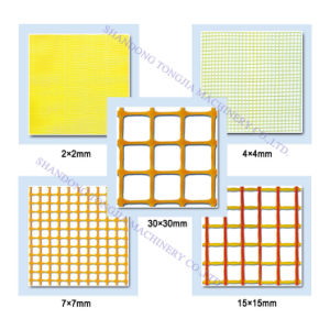 Plastic Square Mesh Plastic Machine (JG-FW) pictures & photos