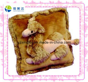 Brown Vivid Camel Custom Plush Cushion (XDT-0267) pictures & photos