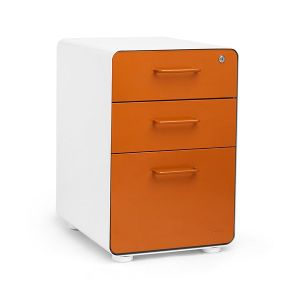 20 Inch 3 Drawers Pedestal Movable File Storage Cabinet pictures & photos