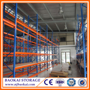 CE, /ISO/TUV Certified Storage Shelving Rack with Plywood Panel