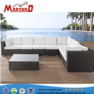 UV Resistance Rattan Outdoor Furniture 3PCS Selectional Sofa Set pictures & photos