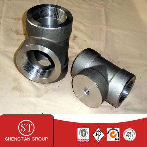 ANSI B16.11 Forged Tee Pipe Fittings pictures & photos