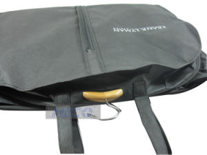 Wholesale Non Woven Garment Bag with Zipper/Suit Cover/Garment Cover pictures & photos