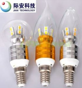 360 Degree 7W 100V-240V E14 LED Glass Bulb pictures & photos