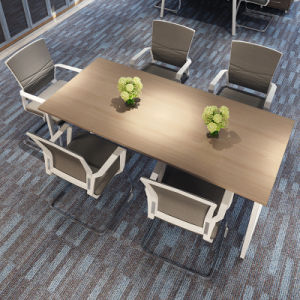 Office Laminated MDF Conference Table for Six People pictures & photos