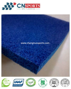 Colorful EPDM Particles and Single Component Glue Mixed Elastic Laminated Flooring pictures & photos
