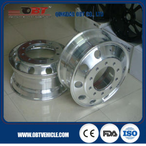 10 Hole Doubel Polished Aluminum Alloy Truck Wheel pictures & photos
