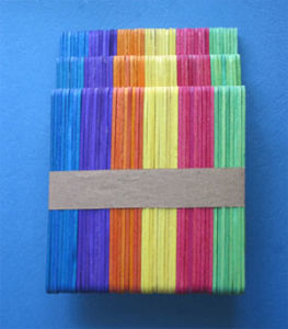 Wooden Craft Stick(Color Stick)