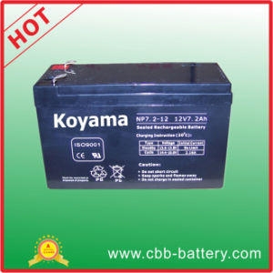 Guangzhou Koyama Manufacturer Electronic UPS Battery 12V7.2ah pictures & photos