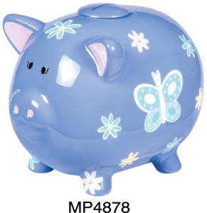 Piggy Coin Bank With Sound (MP4878)