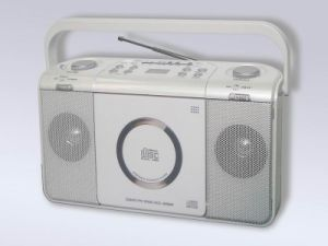 Portable CD Radio Player (W-CD335)