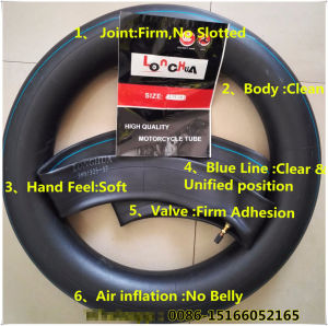 Qingdao Manufacture Natural Butyl Motorcycle Tire and Inner Tube (3.00-17) pictures & photos