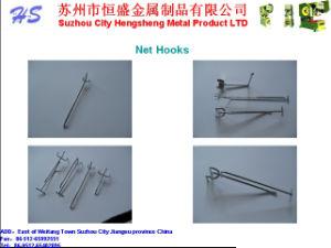 Metal Slatwall Pegboard Accessories Wire Display Hanger Hooks