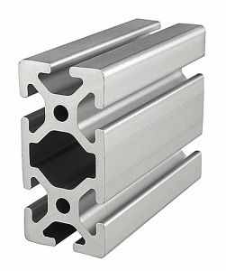 Aluminum Straight Profile with Polished Surface Treatment pictures & photos