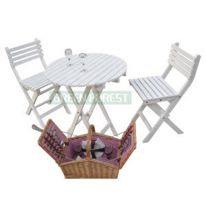 Outdoor Birch Wood Desk Chair (GF-D003)