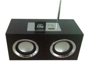 Portable Mini Speaker with USB/Card Reader/FM Radio (Mini-889)