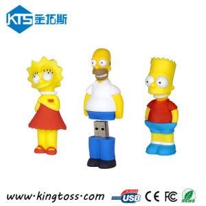 Customized Popular Cartoon PVC 8GB USB Flash Drive (KTS079)