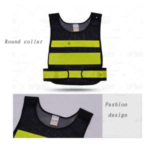 Work Uniform Shirts with Safety 3m Reflective Tape (QF-581) pictures & photos