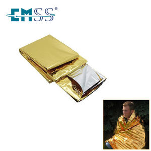 Foil Silver Mylar Thermal Rescue Emergency Blanket